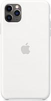 Чехол-накладка Apple Silicone Case для iPhone 11 Pro Max / MWYX2 (белый) -