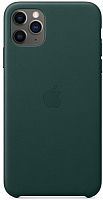 Чехол-накладка Apple для iPhone 11 Pro Max Leather Forest Green / MX0C2 -