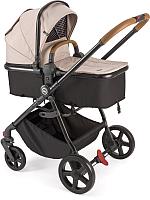 Детская универсальная коляска Happy Baby Lovetta 2 в 1 (бежевый) -