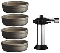 Набор кухонных принадлежностей Emile Henry 799711 для крем-брюле (древесный уголь) -