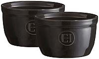 Набор кокотниц Emile Henry 794010 (древесный уголь ) -