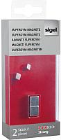 Набор магнитов Sigel GL 191 (2шт, 10x10мм) -