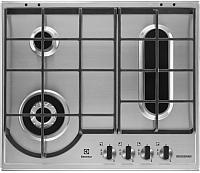 Газовая варочная панель Electrolux GPE963FX -