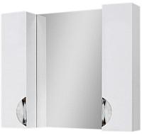 Шкаф с зеркалом для ванной Юввис Оскар Z-11 85 (без подсветки) -