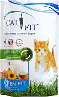 Корм для кошек Cat Fit Для котят (0.4кг) -