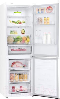 Холодильник с морозильником LG GA-B459SQHZ