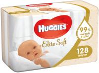 Влажные салфетки Huggies Elite Soft многослойные / 5029053534749 (128шт) -