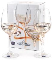 Набор бокалов для вина Bohemia Crystal Viola 40729/M8441/350 (2шт) -