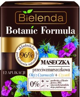 Купить Маска для лица кремовая Bielenda, Botanic Formula против морщин черный тмин+ладанник (50мл), Польша, Botanic Formula (Bielenda)