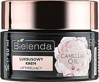 Крем для лица Bielenda Camellia Oil эксклюзивный концентрат подтягивающий 50+ день/ночь (50мл) -