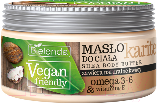 Купить Масло для тела Bielenda, Vegan Friendly карите (250мл), Польша