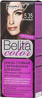 Крем-краска для волос Белита-М Belita Color стойкая с витаминами № 5.35 (коричневый) -