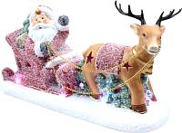 Световая фигурка Neon-Night Дед Мороз в санях 505-029 -