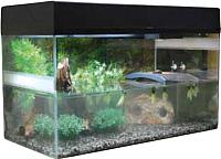 Террариум Lucky Reptile Стартовый комплект для водных черепах / SK80TU-B (черный) -