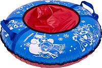 Тюбинг-ватрушка Тяни-Толкай 730мм Frost (синий, тент, Норм) -