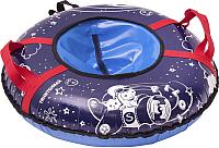 Тюбинг-ватрушка Тяни-Толкай 730мм Pilot (синий, тент, Норм) -
