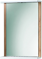 Зеркало Акваль Ирис 50 / ИРИС.04.50.00.N (с полкой) -