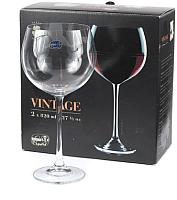 Набор бокалов для вина Bohemia Crystal Vintage 40602/820-2 (2шт) -