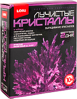 Набор для выращивания кристаллов Lori Лучистые кристаллы / Лк-007 (фиолетовый) -
