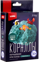 Набор для выращивания кристаллов Lori Кораллы / Крк-004 (изумрудный) -