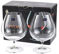 Набор бокалов для коньяка Bohemia Crystal Vintage 40602/875-2 (2шт) -