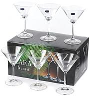 Набор бокалов для мартини Bohemia Crystal Lara 40415/210 (6шт) -