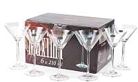 Набор бокалов для мартини Bohemia Crystal Maxima 40445/210 (6шт) -