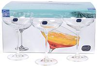 Набор бокалов для мартини Bohemia Crystal Megan 40856/290 (6шт) -