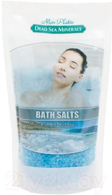 Соль для ванны Mon Platin Натуральная соль Мертвого моря с ароматическими маслами (500г)