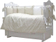 Комплект в кроватку Топотушки 12 месяцев / 661/8 (серый) -