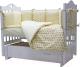 Комплект постельный в кроватку Топотушки 12 месяцев / 661/6 (бежевый) -