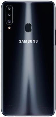 Смартфон Samsung Galaxy A20s (2019) / SM-A207FZKDSER (черный)