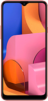 Смартфон Samsung Galaxy A20s (2019) / SM-A207FZRDSER (красный) -