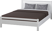 Двуспальная кровать Bravo Мебель Вероника 1 160x200 (дуб белый) -