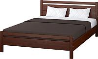 Двуспальная кровать Bravo Мебель Вероника 1 160x200 (орех) -