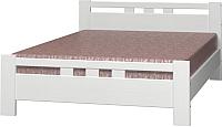 Полуторная кровать Bravo Мебель Вероника 2 120x200 (дуб белый) -