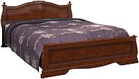 Полуторная кровать Bravo Мебель Карина 2 120x200 (орех) -