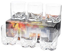 Набор бокалов для виски Bohemia Crystal Barline 25089/133/410 (6шт) -