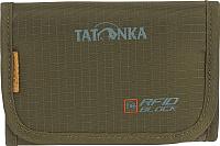 Портмоне Tatonka Folder RFID / 2964.331 (оливковый) -
