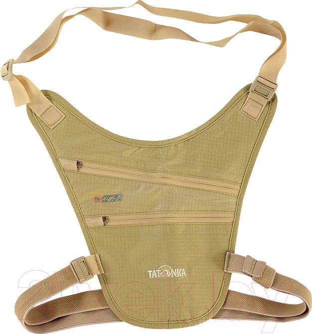 Купить Портмоне Tatonka, Skin Chest Holster RFID / 2961.225 (телесный), Вьетнам, бежевый, нейлон
