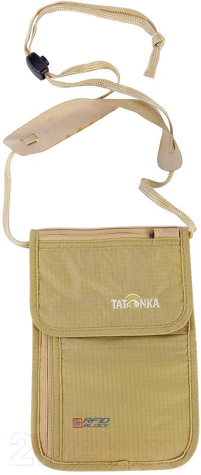 Купить Портмоне Tatonka, Skin Neck Pouch RFID B / 2959.225 (телесный), Вьетнам, бежевый, нейлон