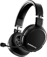 Наушники-гарнитура SteelSeries Arctis 1 Wireless / 61512 (черный) -