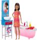 Кукла с аксессуарами Barbie С набором мебели / DVX51/DVX53 -