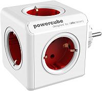 Электроразветвитель Allocacoc PowerCube Original 1100RD / DEORPC (белый/красный) -