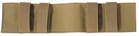 Сменная панель тактическая Tasmanian Tiger TT Modular Patch Holder / 7615.343 (хаки) -