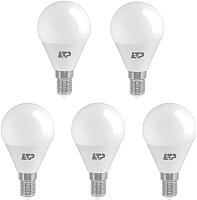 Набор ламп ETP G45 7W E14 4000K -
