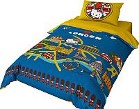 Комплект постельного белья Нордтекс Hello Kitty HK 1551 20046+8379/3 -