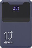 Портативное зарядное устройство Ritmix RPB-10005 (Black/Indigo) -