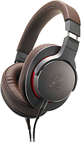 Наушники-гарнитура Audio-Technica ATH-MSR7BGM (серый) -