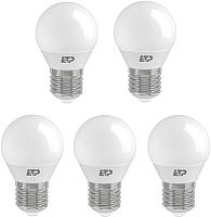 Набор ламп ETP G45 7W E27 4000K -